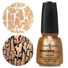 China Glaze Medallion Bronze Metal Crackle Nail Polish 14ml