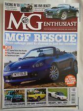 MG Enthusiast Sep 2010 MGF, RV8, Lester MG Coupe