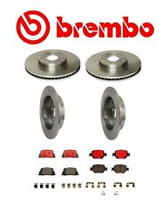 Brembo Front and Rear Brake Kit Disc Rotors Ceramic Pads for Scion tC 2005-2010