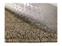 Resilia -6' Clear Vinyl Plastic Floor Runner/Protector for Deep Pile Carpet