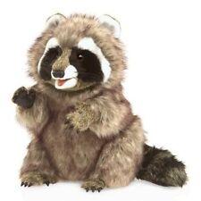 Folkmanis Raccoon Hand Puppet Plush