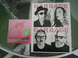 Garbage No Gods No Masters new 2 cds & signed 8.5 x 11 photo card sold out pre