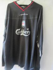 Liverpool 2002-2004 Away camiseta de fútbol Mans Jersey Xxl / 13855 Manga Larga