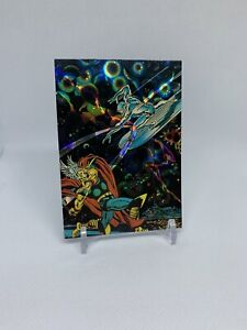 1992 Marvel Silver Surfer | Thor | refractor | NM-MT | PSA ready