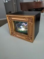 Disney Collectible Lighted Shadow Box By Olszewski. Bambi And Thumper Lighted...