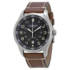 Victorinox Swiss Army AirBoss Automatic Black Dial Mens Watch 241507