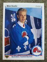 90-91 Upper Deck MATS SUNDIN Rookie Card #365 Mint ***French***