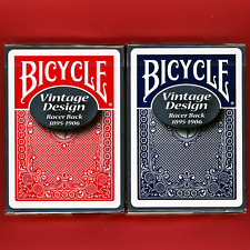 Bicycle Racer Back Playing Cards Ohio Vintage