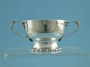 Saliere - mit blauem Glaseinsatz - 925er Silber - London 1929 - M7781