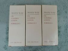 Mary Kay Formula 3 Oil Control Lotion for Oily Skin 4 OZ New in Box Lot of 3