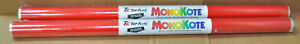"Qty 2 Rolls Top Flite MonoKote Missle Red 72"" TOPQ0201 - NEW"