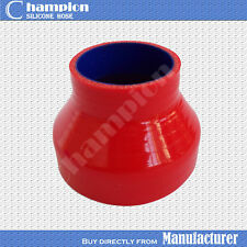 Red 3.5'' to 4'' Straight Silicone Coupler Reducer Hose Intercooler Turbo Pipe