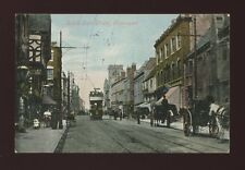 Gloucestershire Glos GLOUCESTER South Gate St tram #4 1905 PPC by Valentine