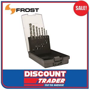 Frost 7 Piece Masonry Drill Set Metric (by Sutton Tools) - 92356