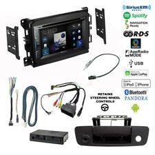 Pioneer CarPlay USB/DVD Bluetooth Stereo+Camera+Dodge Ram 13-17 Radio Dash Kit