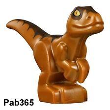 Lego bébé dino orange foncé Neuf / Dark Orange baby raptor NEW REF 38524