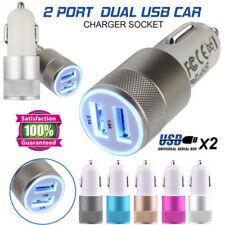 KFZ Auto Dual USB Ladegerät Auto 2x USB Ladeadapter 3.1A Zigarettenanzünder 12V