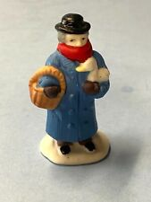 Christmas Village Accessory - Man Holding Goose Figure - Lemax /Dept 56
