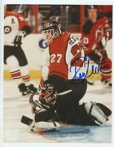 "Philadelphia Flyers Ron Hextall 8x10"" Autographed Photograph !!!!!"