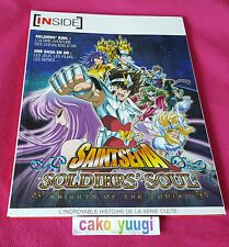 ARTBOOK SAINT SEIYA SOLDIER'S SOUL KNIGHTS OF THE ZODIAC TRES BON ETAT FRANCAIS