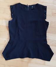 Damen Kleid Kleidchen H&M Größe:38 Farbe:Schwarz