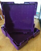 EMPTY PURPLE MONSTER BOX FOR 500 PROVIDENT METAL COPPER ROUNDS NO COINS(NEW)