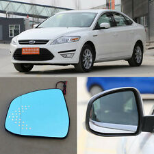 Rearview Mirror Blue Glasses LED Turn Signal with Heating For Ford Zhi Sheng