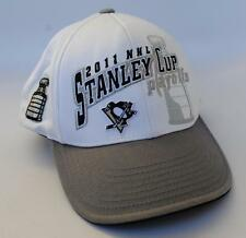 PITTSBURGH PENGUINS 2011 NHL STANLEY CUP Playoffs Baseball Cap Hat One Size