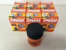 SIX(6)Fram PH3675 Oil Filter CASE fits TG3675 XG3675 PF59 PH59 L25288 51522 1522