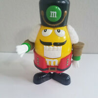M&M Mars Candy Plastic Figure Christmas Nutcracker Soldier Candy Dispenser