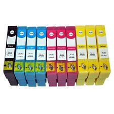 10 Druckerpatronen für Epson SX445W SX525WD SX535WD SX620FW WF7015 WF7515 WF7525