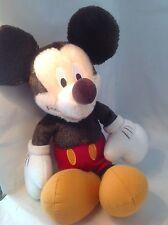 "Mickey Mouse Disney Store 14"" Faux Mohair EUC Stuffed Plush  (J1-5a)"