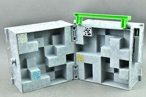 "Minecraft Collector Case Cube Mattel Mini Figure 1"" Mojang"