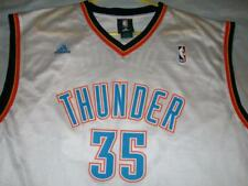 Kevin Durant 35 Oklahoma City Thunder OKC NBA adidas White Jersey Men's 2XL Used
