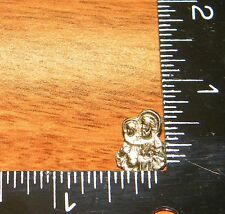Gold Toned Color Holy Jesus and Baby / Child (Pin / Hat Pin / Lapel) Made in USA