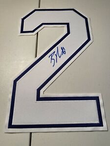Brayden Point Tampa Bay Lightning Signed Autographed White #21 Jersey Number