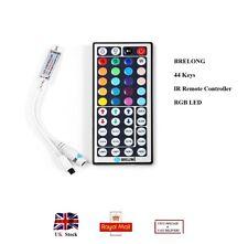 BRELONG 44 Keys IR Remote Controller RGB LED DC12V Strip Lights - COLORFUL UK