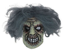 Horror Man Mask With Wig Halloween Costume Fancy Dress Mask