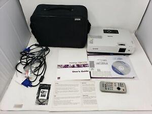 Epson PowerLite 1705c EMP-1705 3LCD XGA Projector 2200 Lumens Under10 Lamp Hours