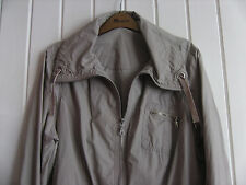 LADIES LOVELY STONE COLOURED ZIP-UP JACKET BY DOROTHY PERKINS - SIZE 14