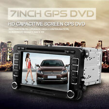 "7"" 2 Din DVD Player GPS Navigation Radio Bluetooth für VW Volkswagen Universal"