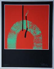"PAUL RISCH (1943)       ""ABSTRACTION LYRIQUE  ""  Signé"