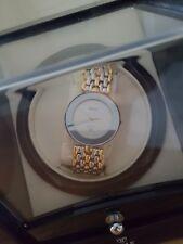 Rado Florence unisex Quartz Watch 160.3677.2 Safire crystal gold plated MINT
