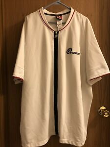 Allen Iverson Reebok Snap button Warm Up Vintage 2000s Philadelphia#6911