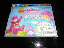 CARE BEARS EASTER POP-OUTZ! FUN FRAMES 30+ PIECES~~~NEW~~~`