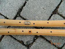 CB ITALIA (n.2) cerchi in legno MILANO vintage per tubolari - Holzfelgen