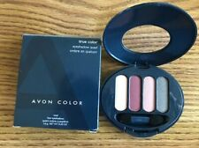 Avon True Color Eye Shadow DEEPEST ROSE QUAD NEW in box