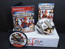 PS2 Marvel Ultimate Alliance Special Edition Greatest Hits #MANDY