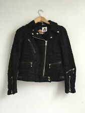 Lewis Leathers Comme Des Garcons DSM Chanel Linton Tweed Cyclone Jacket 34 New