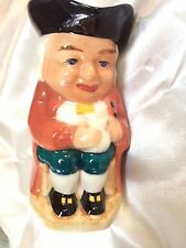 OLD TOBY JUG,BRIGHT COLOURS,TRICON HATHOLDING ALE,STAFFORDSHIRE POTTERY,PERFECT
